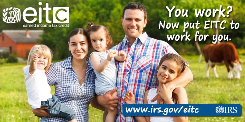 EITC eligible family_middle America farm