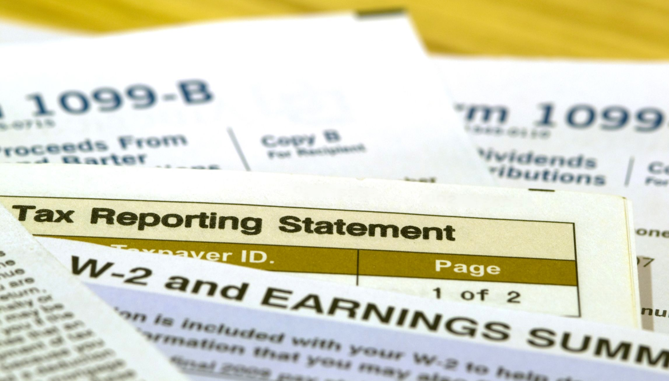 Most tax statements should be at least on their way today dont tax reporting forms and statemenst1099 w2 etc falaconquin