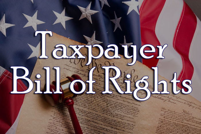 Image result for taxpayers bill of rights