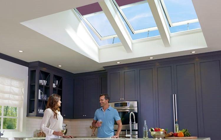 Kitchen-skylights-velux