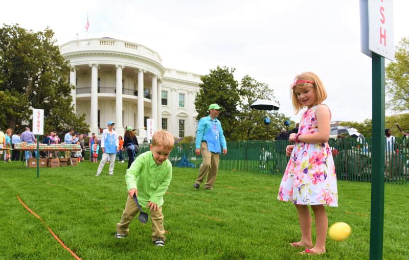 White House Easter Egg Roll 2017