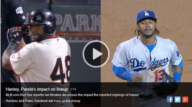 Pablo Sandoval_Hanley Ramirez Boston deals discussed on MLB-dot-com