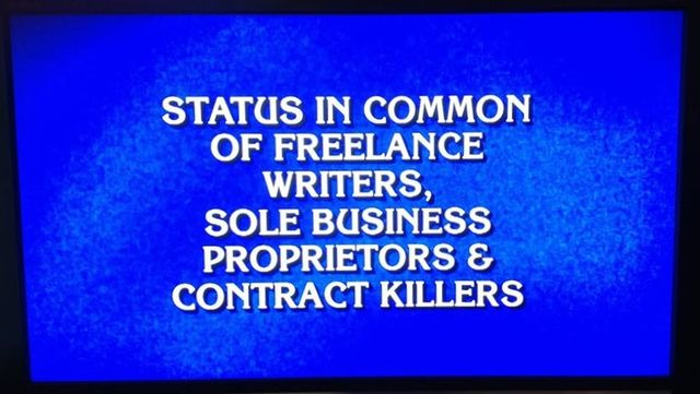Jeopardy self-employed answer