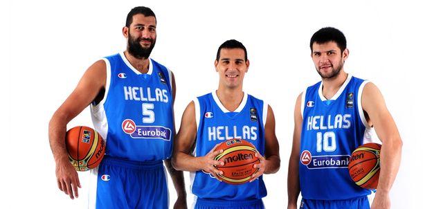Greek basketball players via FIBA