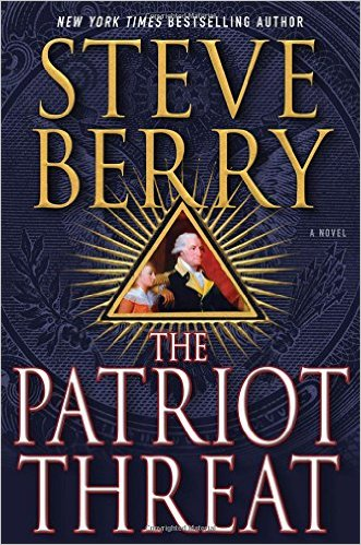 Patriot Threat by Steve Berry book cover