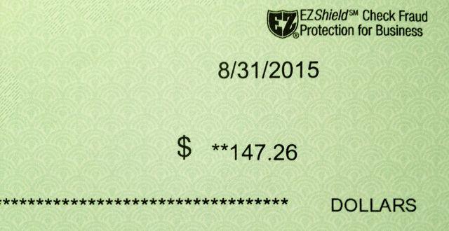 Clinic refund check