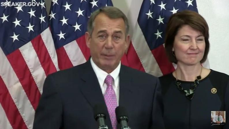 House Speaker John Boehner announced 2015 budget deal 102715