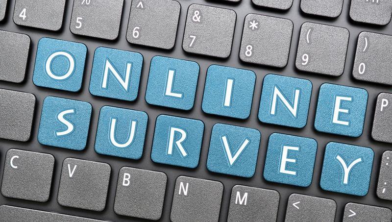 Online survey_keyboard