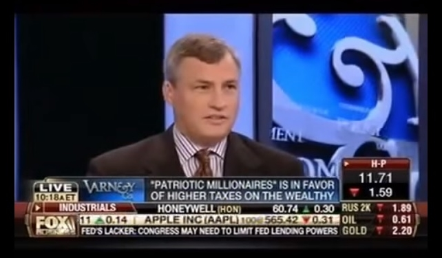Eric Schoenberg confounds Stuart Varney of Fox News with higher tax pledge