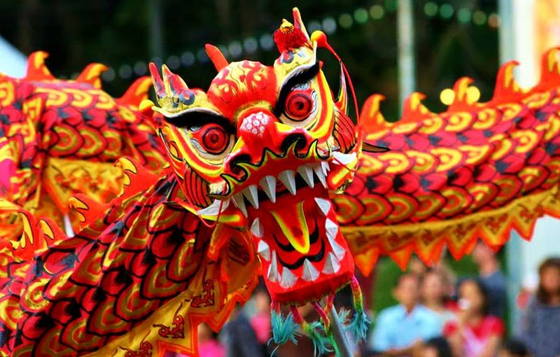Chinese dragon lunar new year parade_2016 year of the monkey_Princeton Photo Workshop