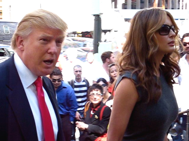Donald and Melania Trump_NYC Sept  27 2006_Boss Tweed via Flickr