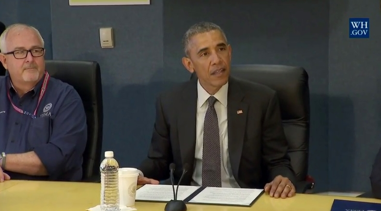Obama emphasizes hurricane preparedness for 2016 season