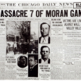 Chicago Daily News report of St Valentines Day Massacre