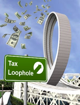 Tax loophole roller coaster
