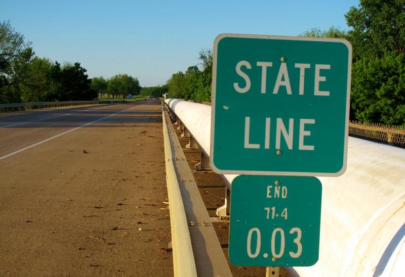 State line marker