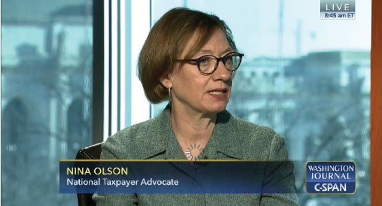 National Taxpayer Advocate Nina Olson_CSPAN_March 2016