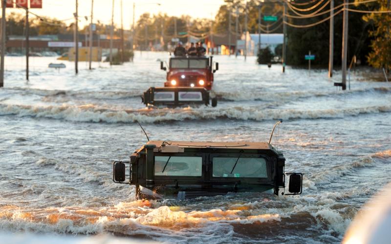 North Carolina flooding Hurricane Matthew_FEMA photo