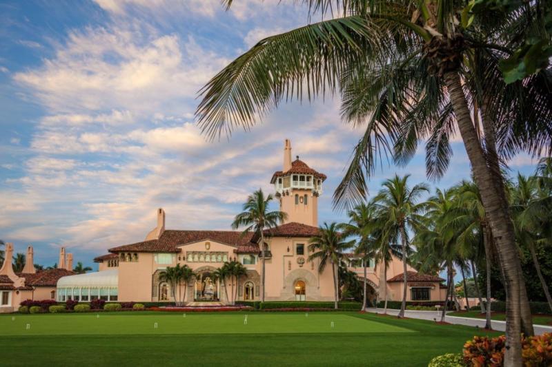 Mar-a-Lago Donald Trump Palm Beach mansion and private club