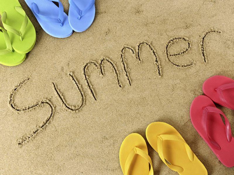 Summer flip-flops fun
