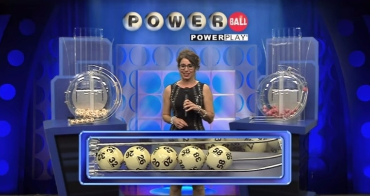 Powerball numbers drawing June 10 2017_first five balls