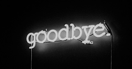 Goodbye neon sign_muselyfe tumblr
