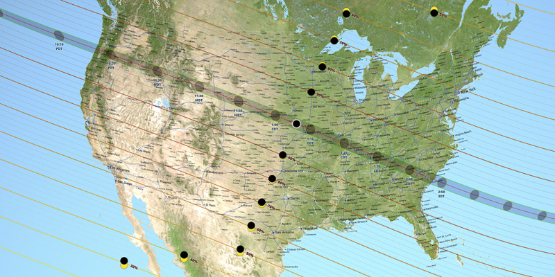 Path of totality August 21 2017 solar eclipse_Ernie Wright_NASA-Goddard-SVS