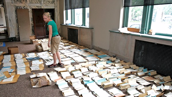 Trying to salvage flood damaged records_Louisiana Law Blog