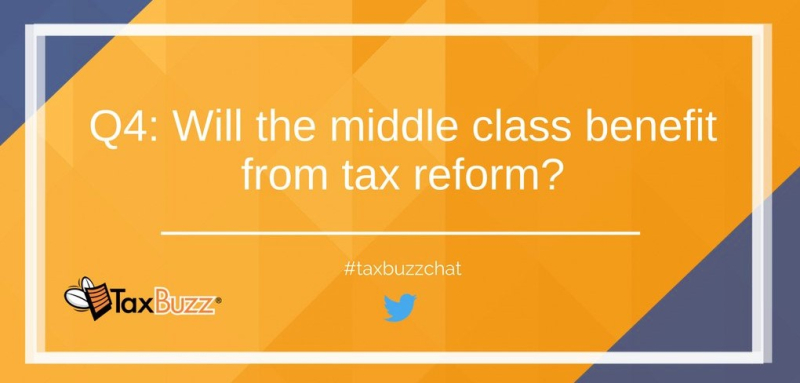 Tax buzz chat middle class tax reform question