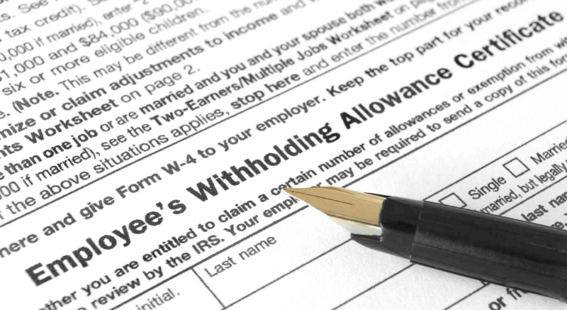 W-4_withholding_tax_allowance_federal_income