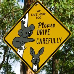 Australian road signs_JuJuly25 via Flickr CC