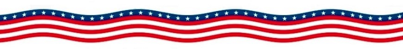 US flag bunting streamer2