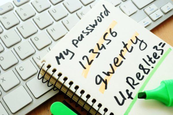 Written-password-bad-choices
