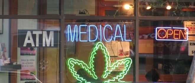 Marijuana store front courtesy MJ News Network
