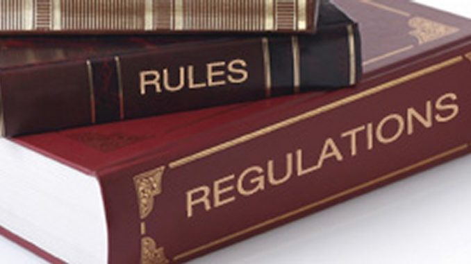 Rules and regulations and guidance
