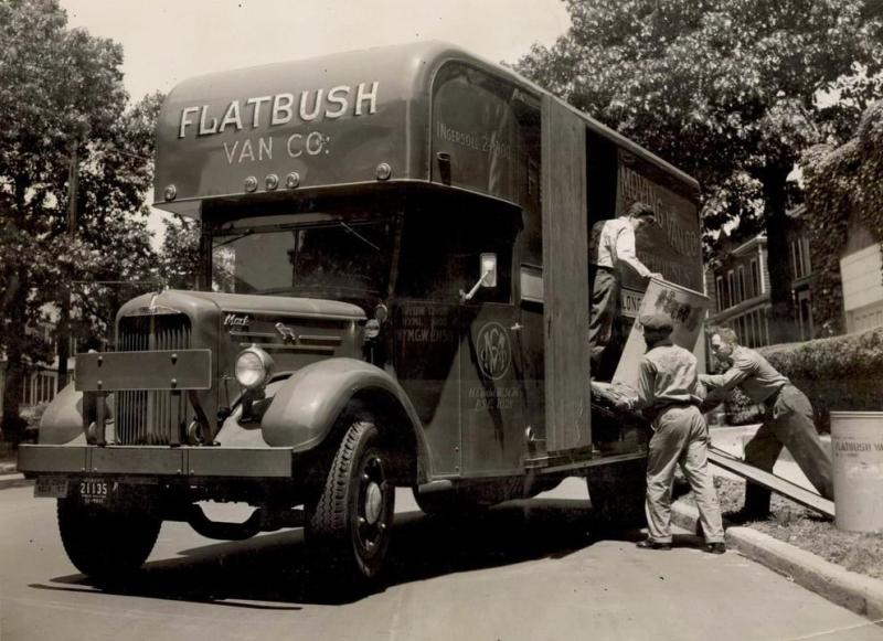 Flatbush vintage moving van_relocation