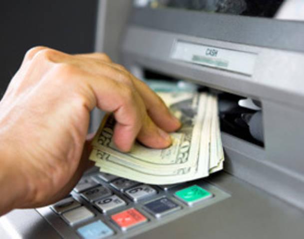 ATM machine_getting cash