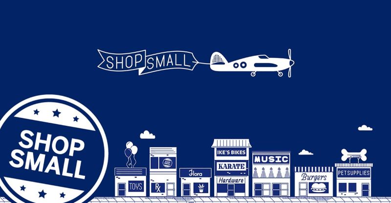 Small Business Saturday Shop Small graphic_American Express