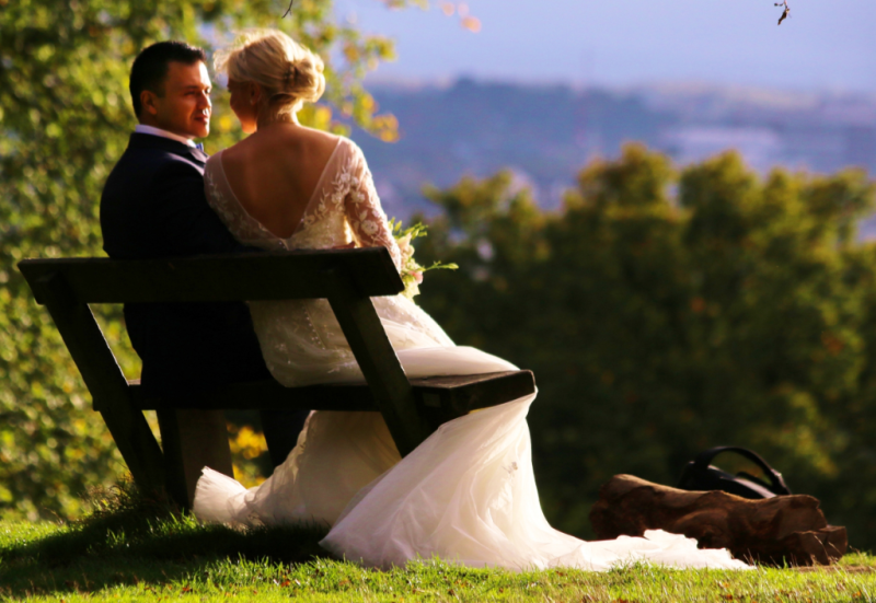 Relaxing after the ceremony_Richmond Park Wedding-Red Cloud Photography_Barney Moss via Flickr