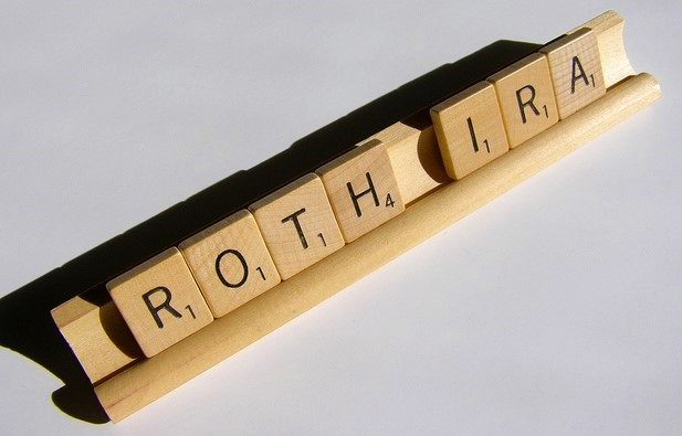 Roth IRA Scrabble tiles by Chris Potter via ccPixs-dot-com