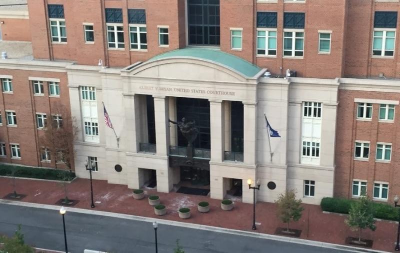 US District Court Alexandria Virginia_Google Earth