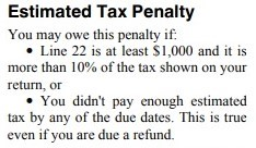 IRS offers tax penalty relief to some who didn't have enough