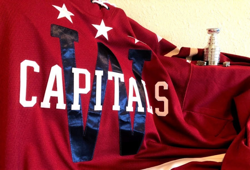 Capitals sweater and mini Stanley Cup and Zambonis_IMG_1120