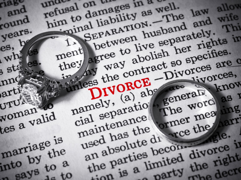 Divorce-rings-definition