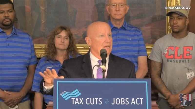 GOP leaders celebrate six months of tax reform June 2018_Speaker-gov