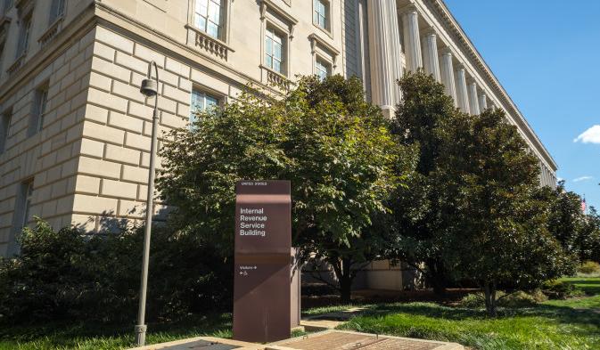 IRS building Washington DC