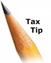 Tax tip pencil