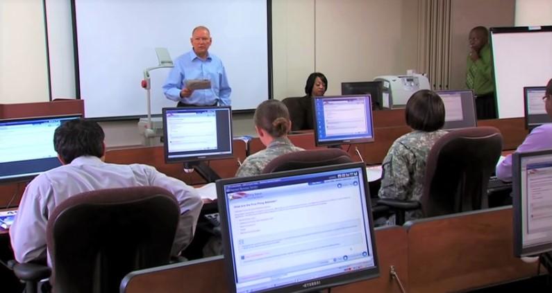 VITA tax volunteer training session_IRS video screenshot