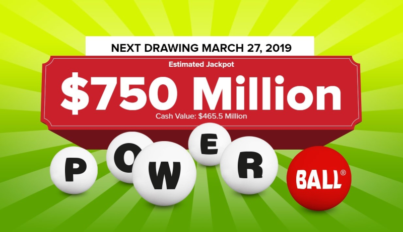 Powerball 750 million march 27 2019