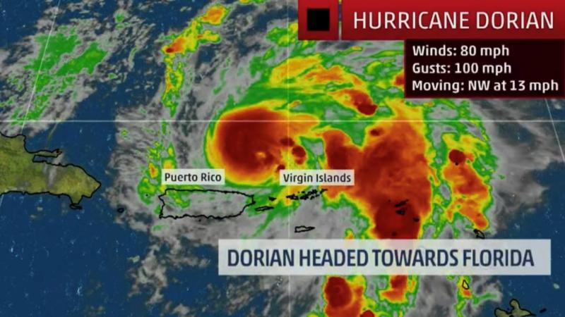 Hurrican Dorian August 2019