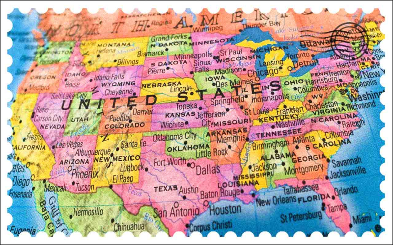 US map_Kiplingler states with most friendly tax systems